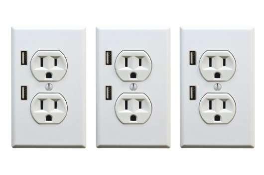 Gadget-Charging Jacks