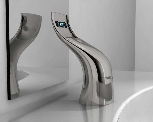 Hi Tech Sprouting Taps Faucet By Daniele Grande