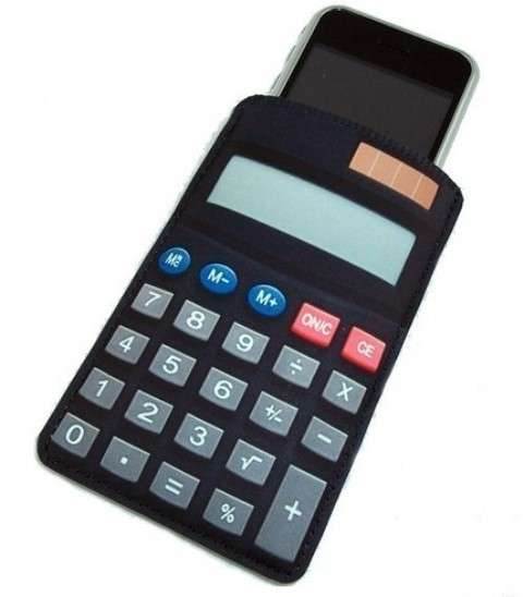 Faux Calculator gadget case