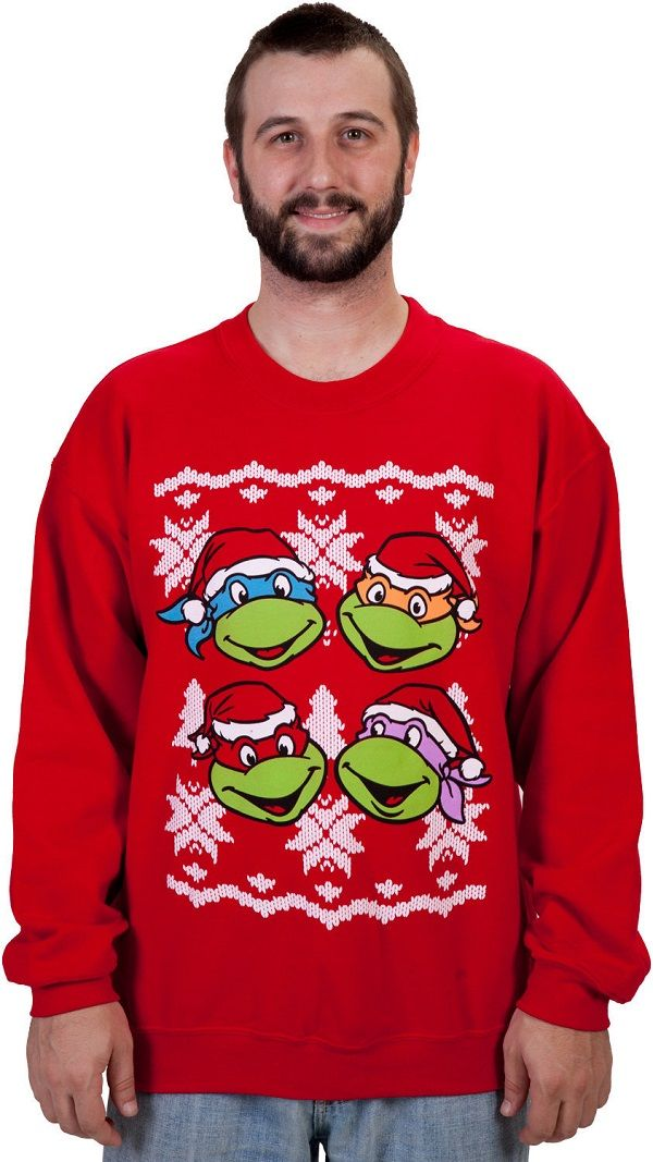 Festive Cartoon Turtle Jumpers