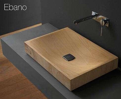 Faux Wood Sinks