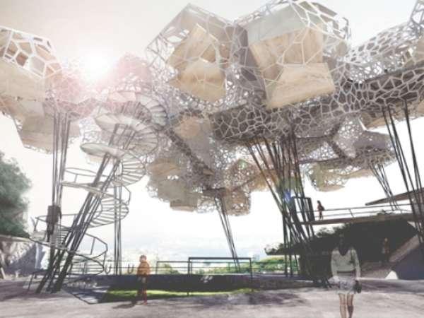 Suspended Slum Structures