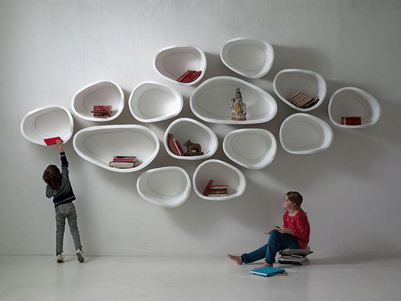 Organic Modular Shelves