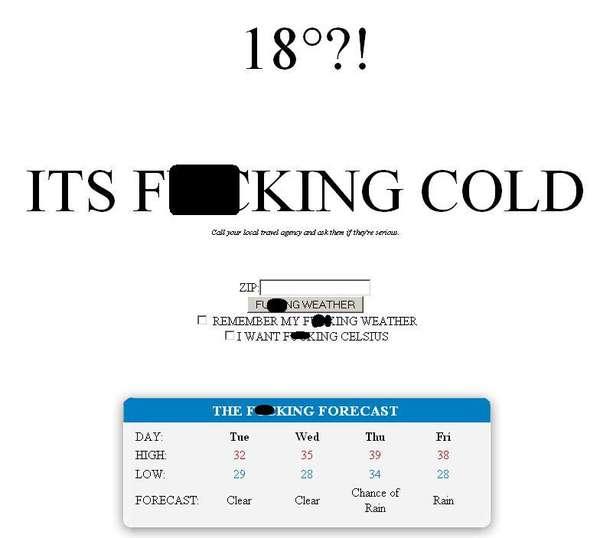 Rude Forecasting