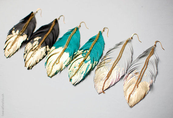 Gold-Dipped Avian Accessories