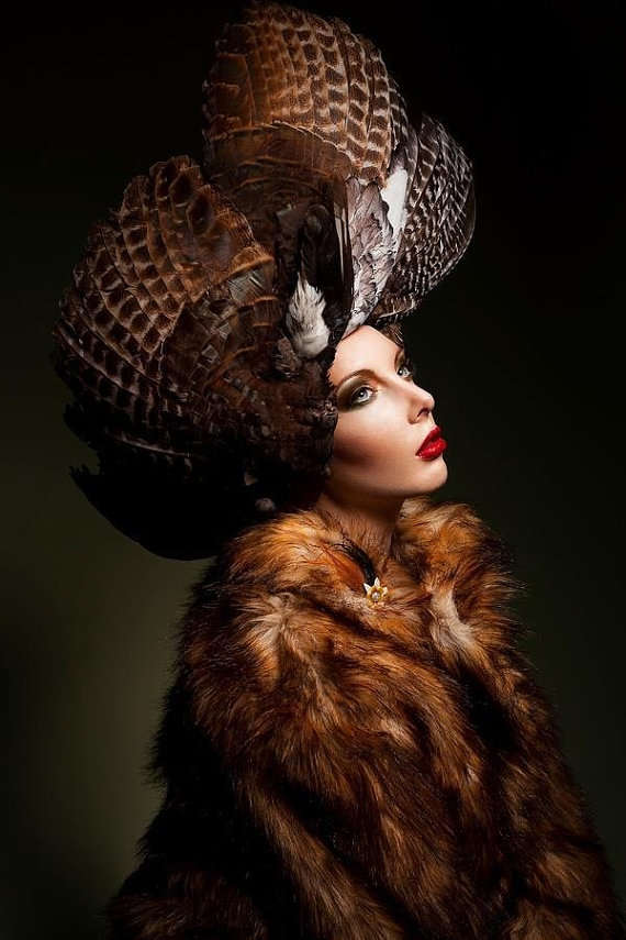 Stunning Poultry Headpieces