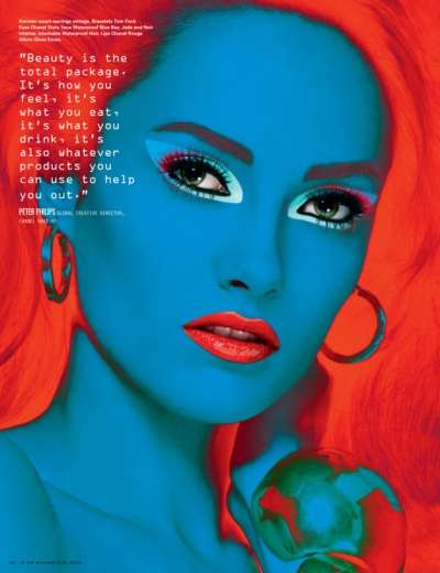 Infrared Supermodel Editorials