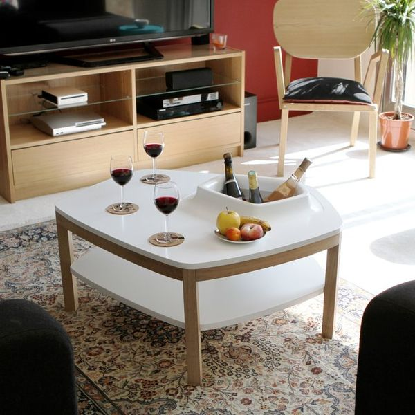 Plant-Growing Coffee Tables