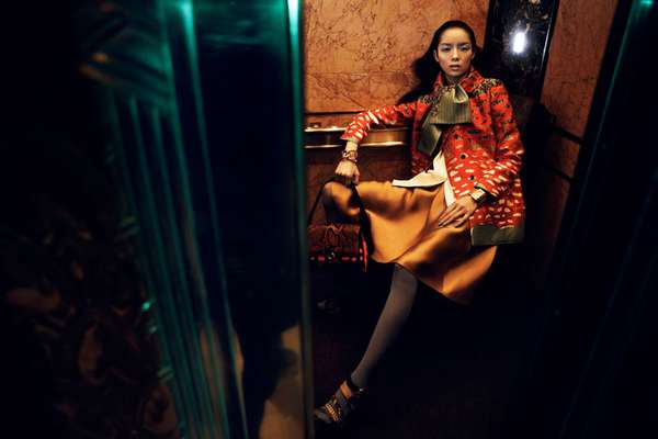 Fei Fei Sun by Lachlan Bailey Vogue China January 2012
