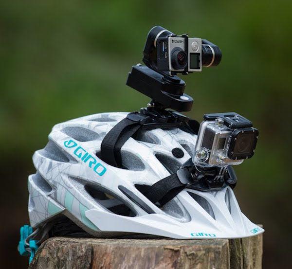 Helmet-Mounted Tripods