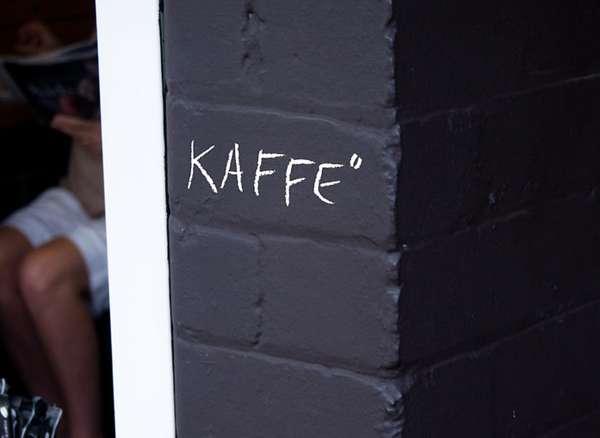 Chalkboard Cafes