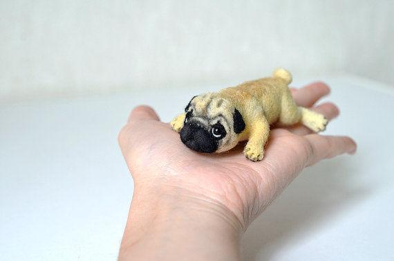 Canine Felt Figurines
