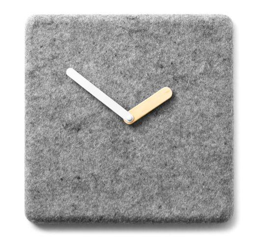 Minimalist Soft Surface Timepieces