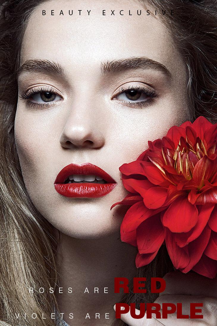 Botanical Beauty Portraits Feminine Makeup Looks
