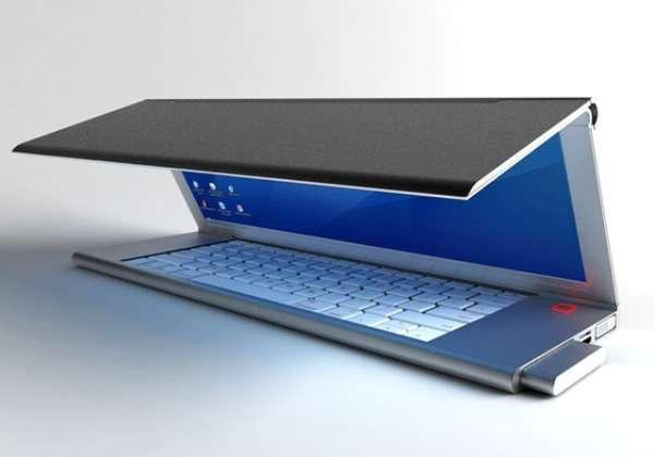 Tri-Folding Laptops