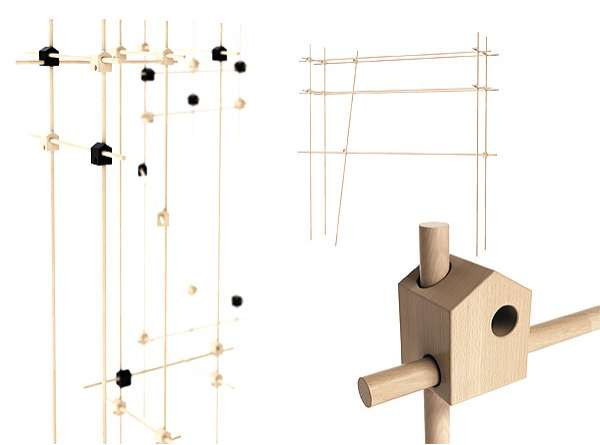 Bird Abode Shelving System