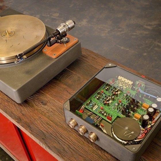 Exposed Audio Equipment
