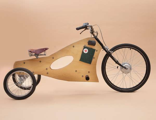 Wooden Eco Trikes