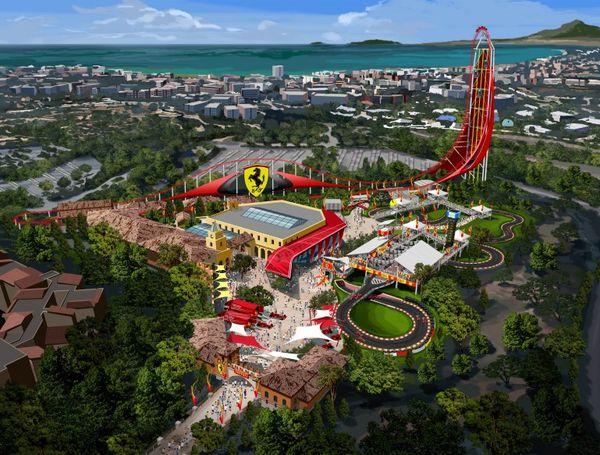Racecar-Themed Amusement Parks