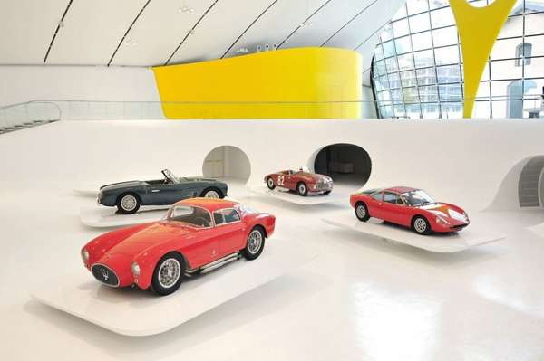 Futuristic Luxury Auto Exhibits