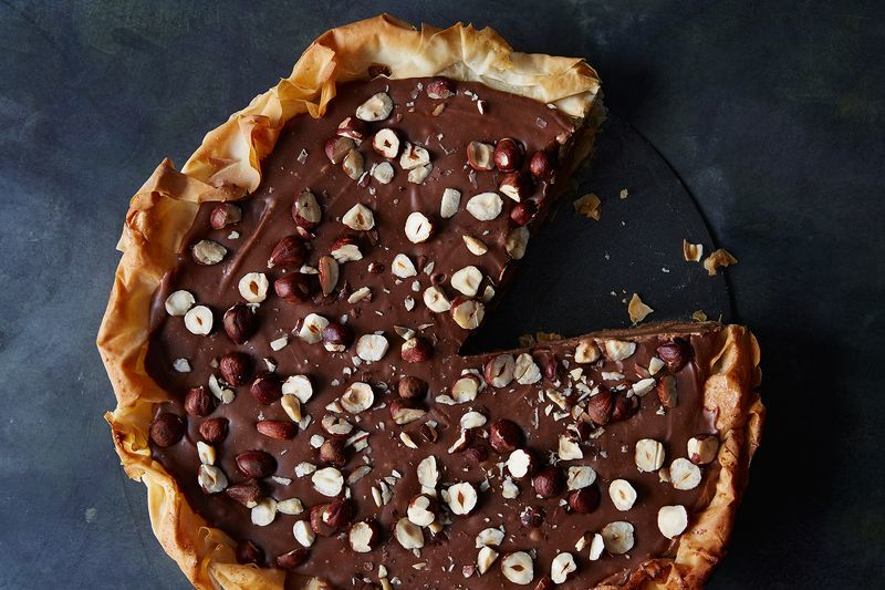 Decadent Chocolate Hazelnut Pies