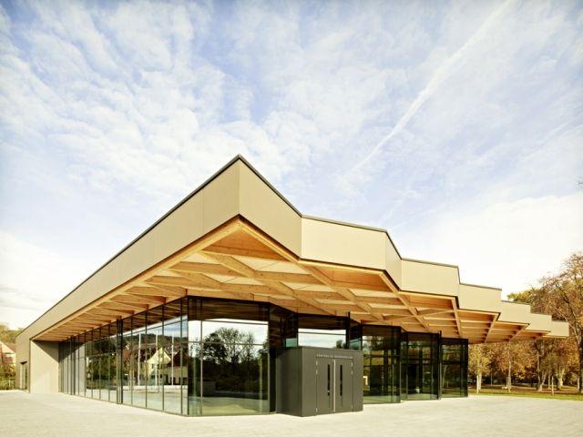 Geometrically Roofed Pavilions