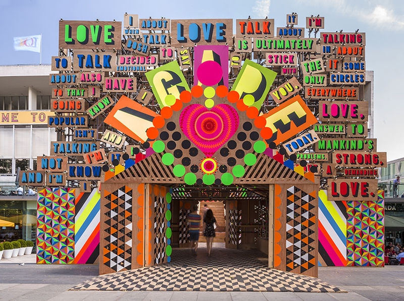 Love-Celebrating Installations