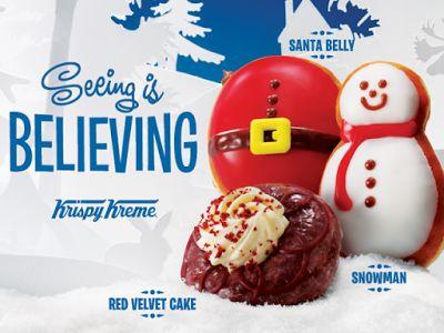 Indulgent Holiday Donut Menus
