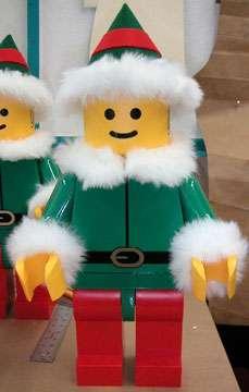 Festive LEGO Creations