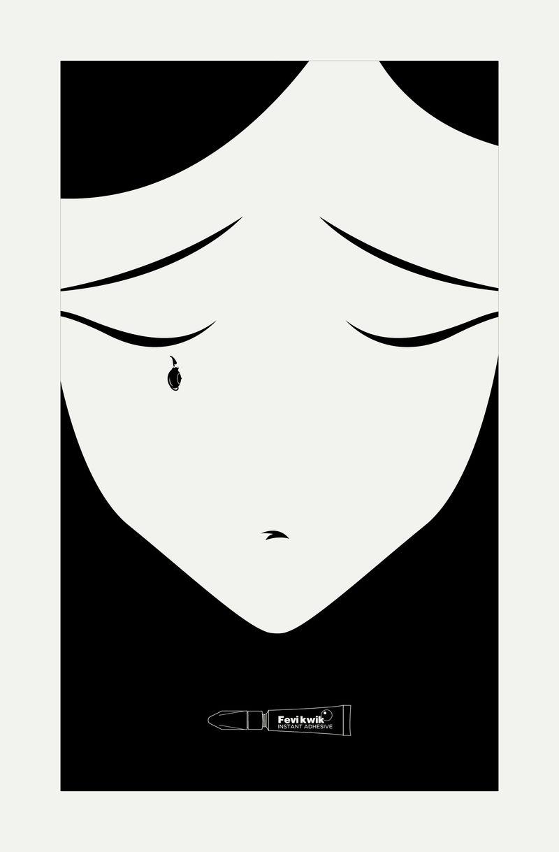 Broken Tears Glue Ads
