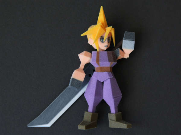 3D-Printed Character Models