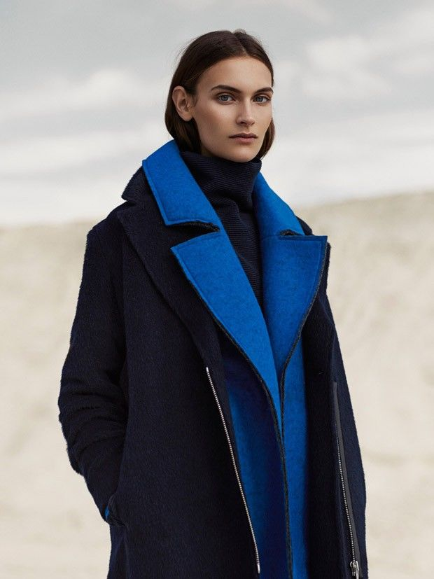 Understated Outerwear Editorials