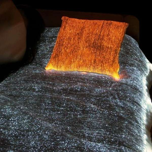 Fiber Optics Bedspread