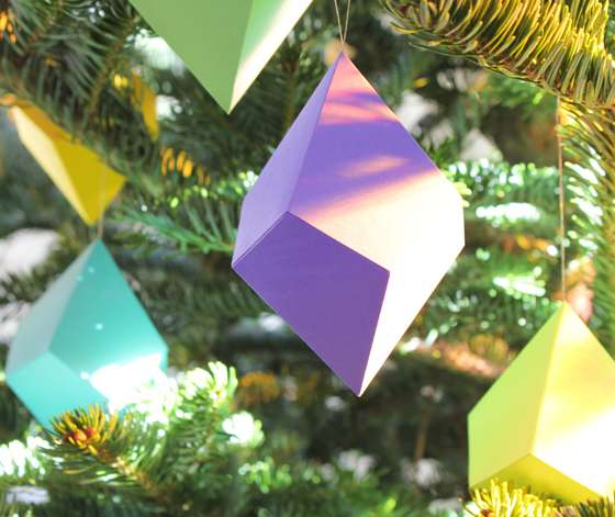 Kaleidoscopic DIY Ornaments