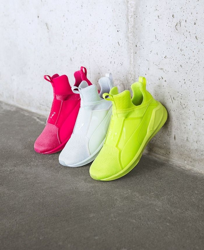 Highlighter-Hued Sneakers