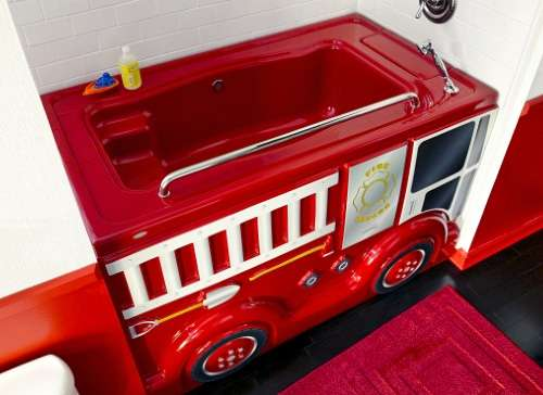 Fierce Fire Truck Funbath