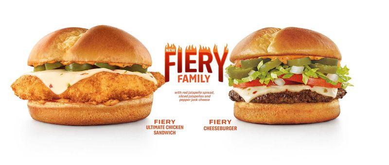 Ultra-Spicy Burger Menus