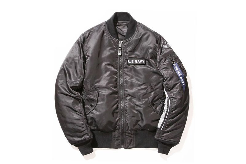 Co-Branded Fighter Jackets