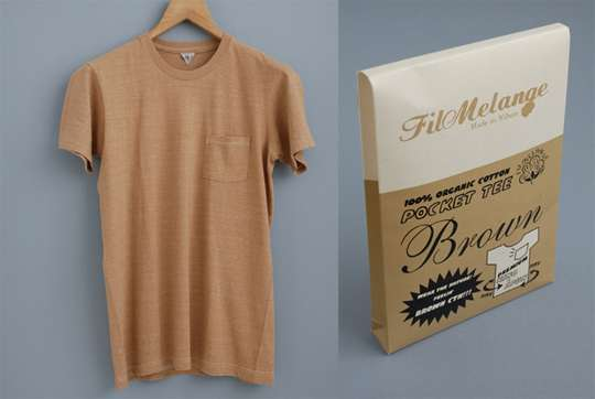 Fil Melange 'Brown T-Shirt'