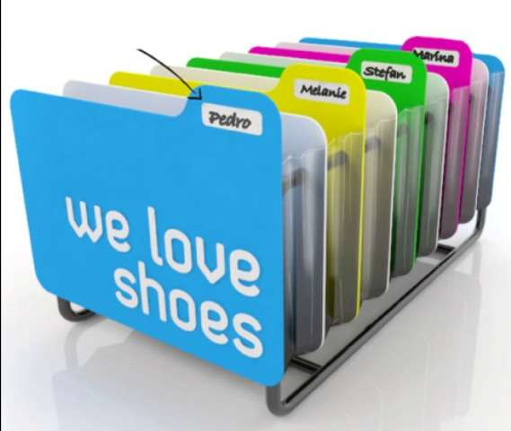 Footwear Filing Cabinets