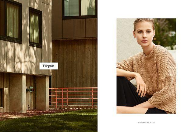 Architectural Fashion Advertisements