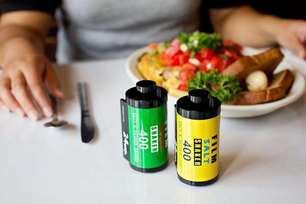Film Canister Condiment Shakers