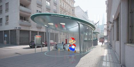 Movie Character Subway Art