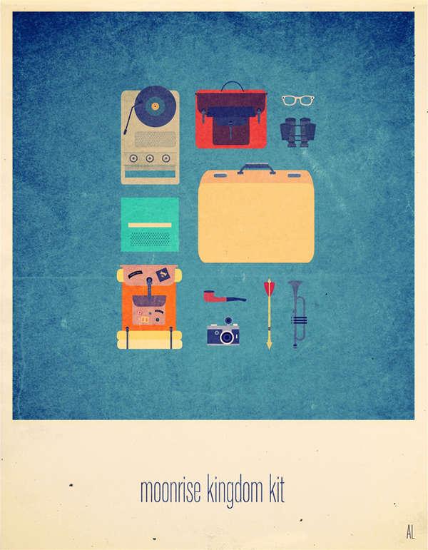 Minimal Movie Kit Designs