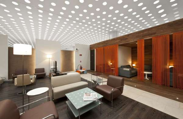 Polka-Dotted Ceilings
