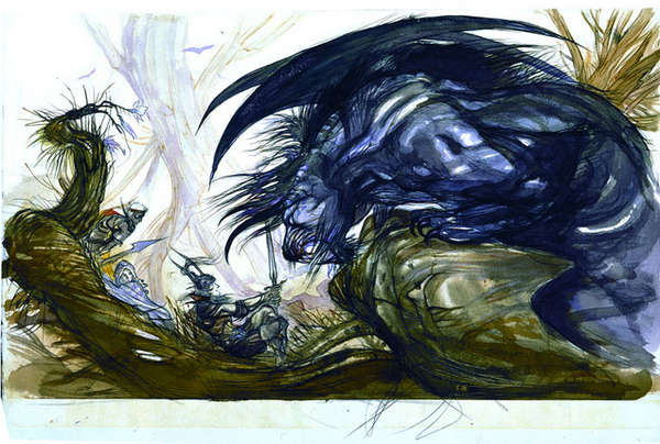 Breathtaking Japanese Fantasy Art
