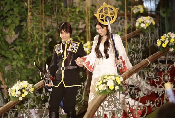 Cosplay Video Game Weddings