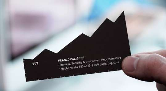 financial advisor cards