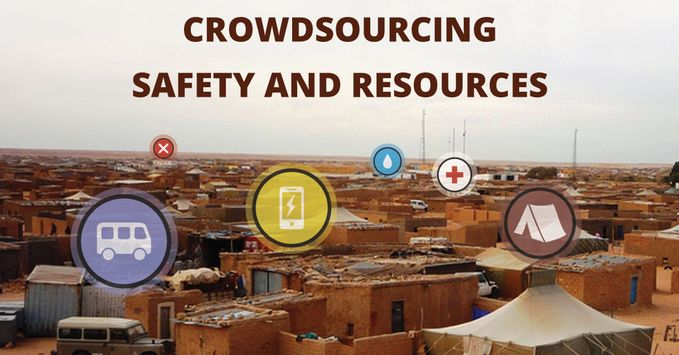 Refugee-Supporting Crowdsourcing Networks