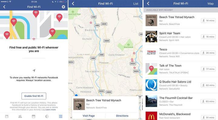Wi-Fi Hot Spot Locators